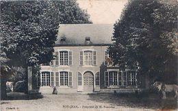 Cpa BOISJEAN 62 - BOIS JEAN Propriété De M. BOURDON - France