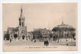 - CPA MALO-LES-BAINS (59) - Place Turenne - L'Eglise - Edition B. F. N° 10 - - Malo Les Bains