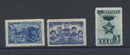 1151 USSR Russia 1943 Mint Uncomplete Year Set Michel 11,8 Euros - Nuovi