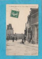 Noyant-Méon ( Maine Et Loire ). - Place De L'Église Et Route De Saumur. - Autres Communes