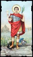 Image Pieuse Holy Card Heilig Prentje SANCTUS EXPEDITUS Saint Expedit Roman Centurion In Armenia Patron Of Speedy Cases - Devotieprenten