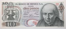 Mexique - 10 Pesos - 1975 - PICK 63h.2 - NEUF - Messico