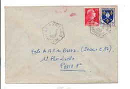 CARTE DE LE PONTHOU FINISTERE 1957 - 1921-1960: Modern Period