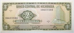 Nicaragua - 2 Cordobas - 1972 - PICK 121a - NEUF - Nicaragua
