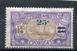 SAINT-PIERRE ET MIQUELON  N°  119 *  (Y&T)   (Neuf)  (Gomme Détérioré) - Ungebraucht