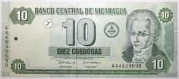 Nicaragua - 10 Cordobas - 2002 - PICK 191 - NEUF - Nicaragua