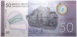 Nicaragua - 50 Cordobas - 2014 - PICK 211a - NEUF - Nicaragua
