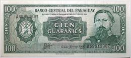 Paraguay - 100 Guaranies - 1982 - PICK 205a.1 - SPL - Paraguay