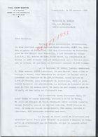 LE LYS LAMORLAYE 1982 AUTOGRAPHE DE Mr YVES SAINT MARTIN JOCKEY LETTRE SUJET VOITURE BUICK SKYLARK : - Autogramme & Autographen