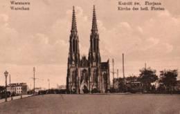 CPA - WARSZAWA - KOSCIOL Sw. FLORJANA … - Pologne