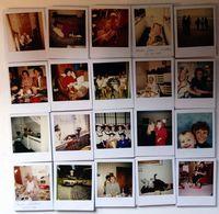 Lot De 200 Photos Polaroid Originales Tous Thèmes, Chat, Famille, Meubles Allemagne & USA 1980/1990 - Photos