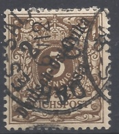 Deutsche Kolonien Deutsch-Ostafrika Michel Nummer 6a Gestempelt - Kolonie: Deutsch-Ostafrika