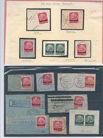 Oblitération Sur Fragment De Timbres - Lettres & Documents