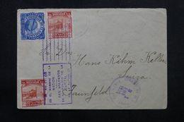 SALVADOR - Affranchissement Plaisant Sur Enveloppe De Santa Ana Pour La Suisse En 1939 - L 63217 - El Salvador