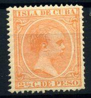 Cuba Nº 126. Año 1891/92 - Neufs