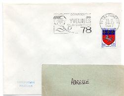 YVELINES - Dépt N° 78 = LES MUREAUX 1967 = FLAMME Codée = SECAP  ' N° De CODE POSTAL / PENSEZ-Y ' - Postleitzahl