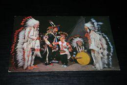15911-         ARIZONA, INDIAN WAR DANCERS DEDECKED IN FULL TRIBAL REGALIA - United States
