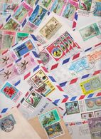 TRINIDAD AND TOBAGO - TRINITE ET TOBAGO - Beau Lot Varié De 186 Enveloppes Timbrées Stamped Air Mail Covers Cover Stamps - Trinité & Tobago (1962-...)