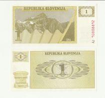 Banconota ORIGINALE REPUBLIKA SLONENIJA - 1 ENA - EUROPA SLOVENIA - 1990 - Slovénie