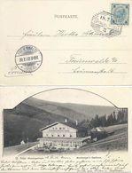 """AK  """"St.Peter Riesengebirge - Buchberger's Gasthaus""""  Spindelmühle         1902 - 1850-1918 Empire"""