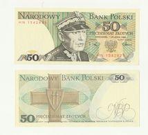 Banconota Non Circolata 50 NARODOWY BANK POLSKI - PIECDZIESIAT ZLOTYCH - POLONIA - Pologne
