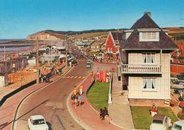 QUIBERVILLE-sur-MER - La Plage Et La Falaise Et L'Hotel - - Autres Communes
