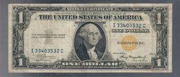 Occupazione Americana Della Sicilia Usa 1 $ Dollaro 1935 A Bollino Giallo Bb+   LOTTO 3277 - [ 1] …-1946 : Royaume
