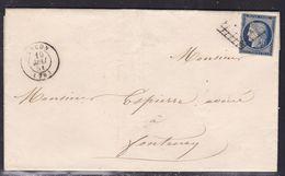 France, Vendée - Yvert N° 4, Grille Sur LAC De La Mairie De Luçon Du 10/5/1851 - Indice 12 - Marcophilie (Lettres)