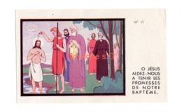 Image Pieuse Religion Croyance Jesus Bapteme Dieu Amelie AF 13 - Devotion Images