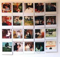 Lot De 170 Photos Polaroid Originales Tous Thèmes, Chat, Famille, Meubles France & USA 1970/1980/1990 - Personnes Anonymes