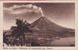 Volcano Volcan Vulcano Vulkan Mayon Philippines Philippinen Filipijnen Missionary Mission Missie Van Scheut CPA - Philippines