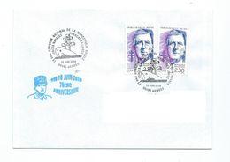 17674 -  CHARLES DE GAULLE - ANNIVERSAIRE DU 18 JUIN 1940 - 70 éme ANN. OBLITERATION SPECIALE FFL NAVALES (18-06-2010) - De Gaulle (Général)