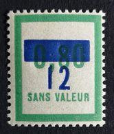 France Fictif N° F70 N** Luxe Gomme D'origine, TTB. Cote 2020 : 3 €. Voir Photos Recto Verso - Fictifs