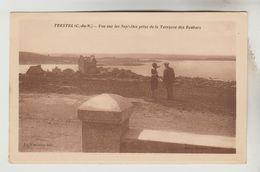 CPSM TREVOU TREGUIGNEC (Côtes D'Armor) - TRESTEL : Vue Sur Les Sept Iles Prise De La Terrasse Des Rochers - Autres Communes