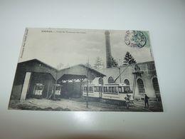 VOSGES EPINAL USINE DES TRAMWAYS ELECTRIQUES MARS 1906 - Epinal