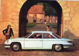 Panhard 24 BT Coupe (1963)  -  Carte Postale Moderne - Voitures De Tourisme