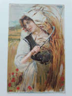 Carte Postale Région D'Italie Piemonte B Cascella Casa Del Pane S M La Regina Madre 1907 - Italie