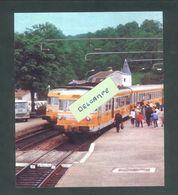 39 - Mouchard - Gare De Mouchard - Croisement De 2 RTG De La Transversale Strasbourg-Lyon En 1980 - Reproduction - Sonstige Gemeinden