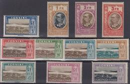 OUBANGUI : SERIE TAXE N° 12/22 NEUVE * GOMME AVEC CHARNIERE - Oubangui (1915-1936)