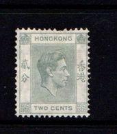 HONG  KONG    1938    2c  Grey   ( 1 Short Perf Hence Price )    MH - Hong Kong (...-1997)