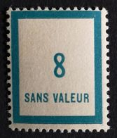 France Fictif N° F83 N** Luxe Gomme D'origine, TTB. Cote 2020 : 1 €. Voir Photos Recto Verso - Fictie