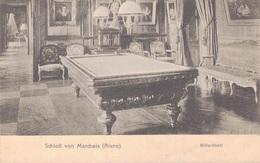 02 - MARCHAIS / CARTE POSTALE ALLEMANDE DU CHATEAU - SALLE DE BILLARD - France