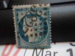 TIMBRE Cérès 25 C  N° 60  Oblitéré - 3827 - 1871-1875 Cérès