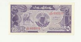 Banconota Nuova Non Circolata BANK OF SUDAN 25 PIASTRES TWENTY FIVE - AFRICA - Sudan