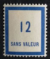 France Fictif N° F85 N** Luxe Gomme D'origine, TTB. Cote 2020 : 1,50 €. Voir Photos Recto Verso - Fictifs