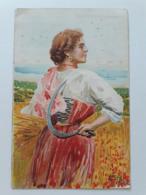 Carte Postale Région D'Italie Romagna B Cascella Casa Del Pane S M La Regina Madre 1907 - Italie