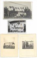 33-PUISSEGUIN-15 CARTES PHOTOS Et PHOTOS... Equipe De Football... (qques Défauts Sur 2 Documents) - Autres Communes