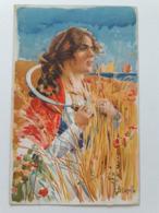 Carte Postale Région D'Italie Sicilia B Cascella Casa Del Pane S M La Regina Madre 1907 - Italie