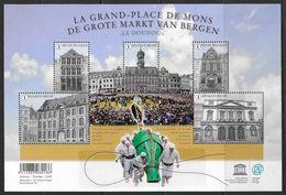 België 2015 Belgique -  BL228xx De Grote Markt Van Bergen - La Grande-Place De Mons. - Blocks & Sheetlets 1962-....