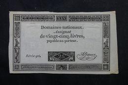 FRANCE - Assignat De 25 Livres , Série 906 - L 63243 - Assignats